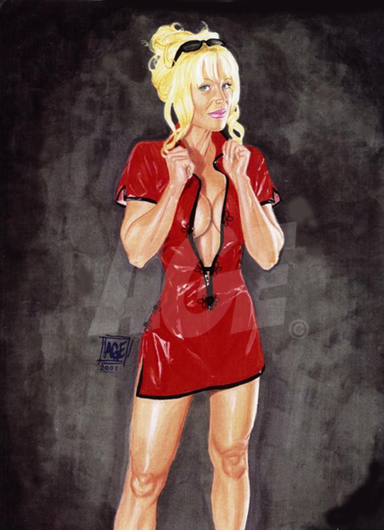 Red Dress by Age-Velez