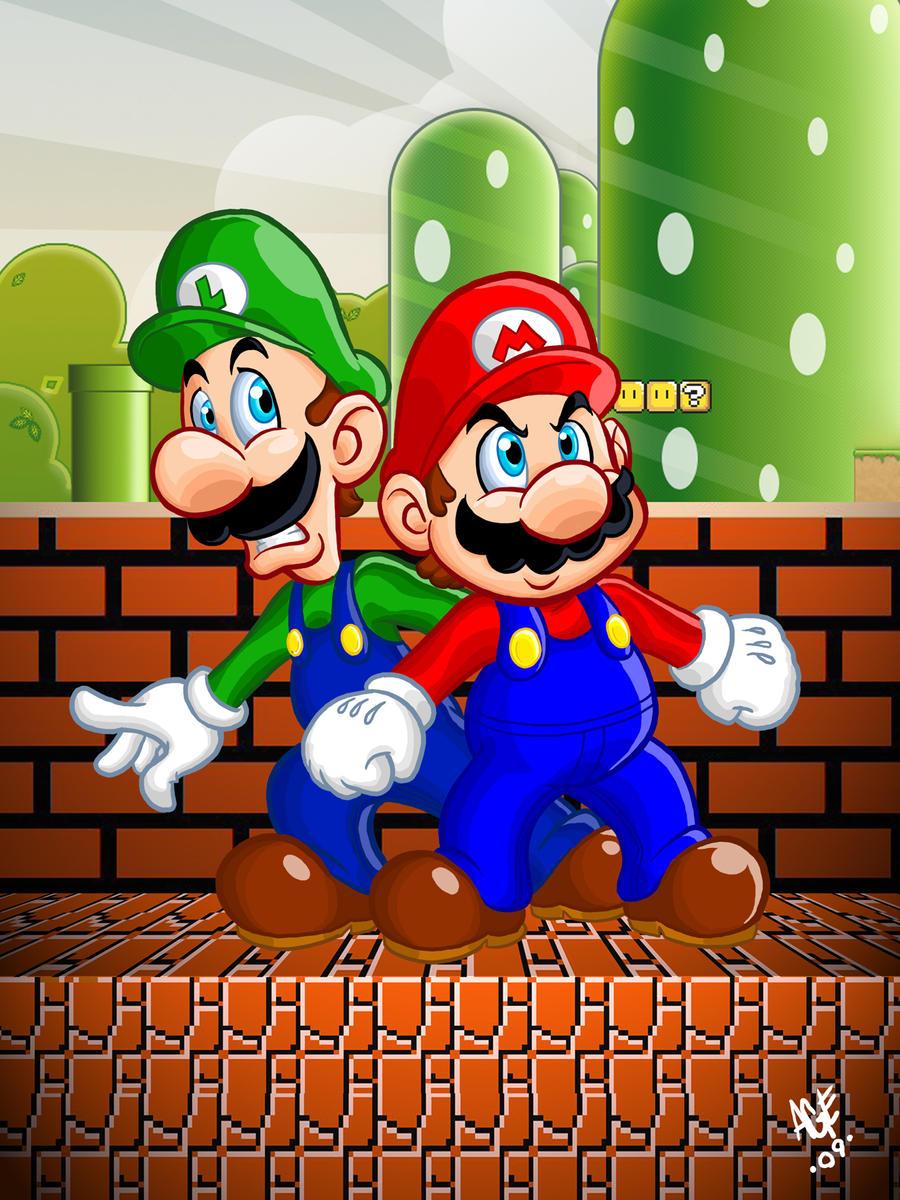 Super Mario Bros updated by Age-Velez