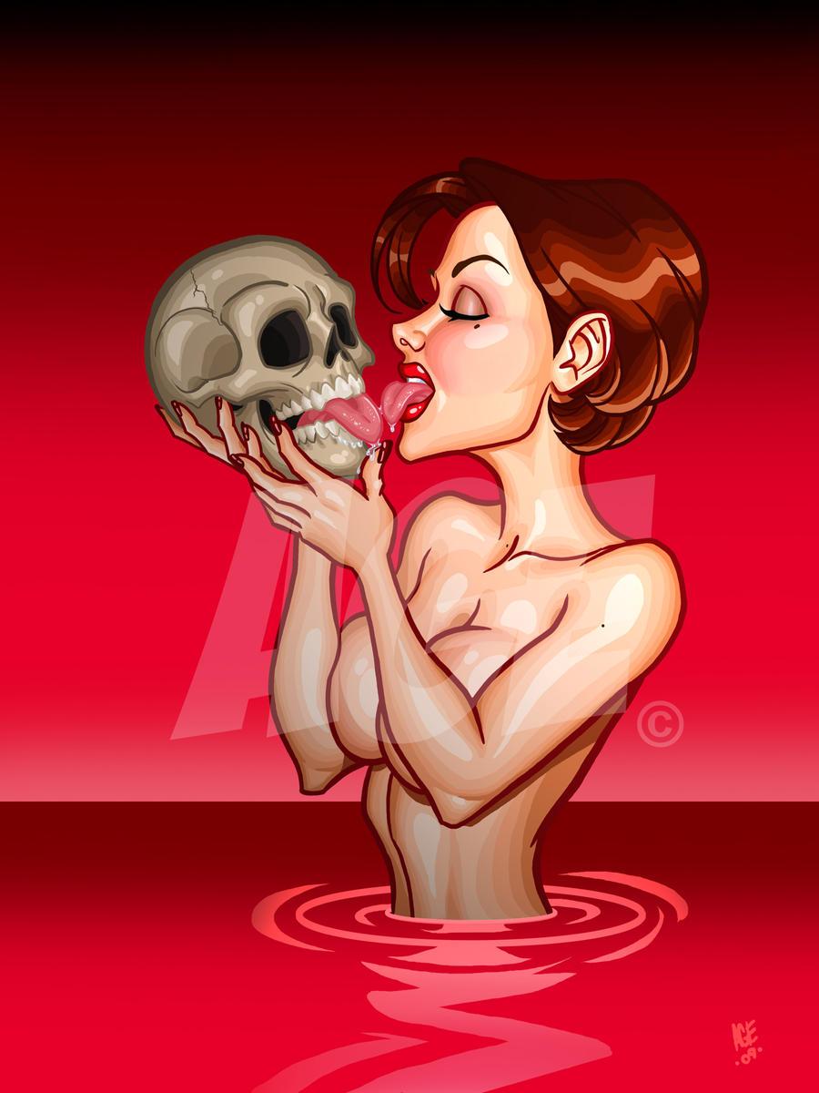 Skull licker tooned by Age-Velez