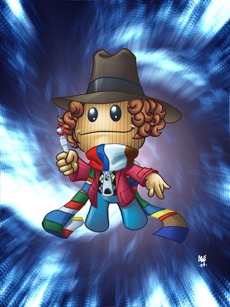 Dr. Who sackboy by Age-Velez