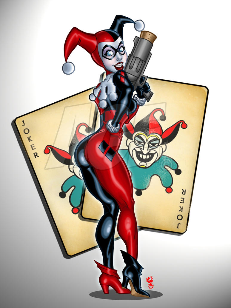 Cheeky Harley Quinn by Age-Velez