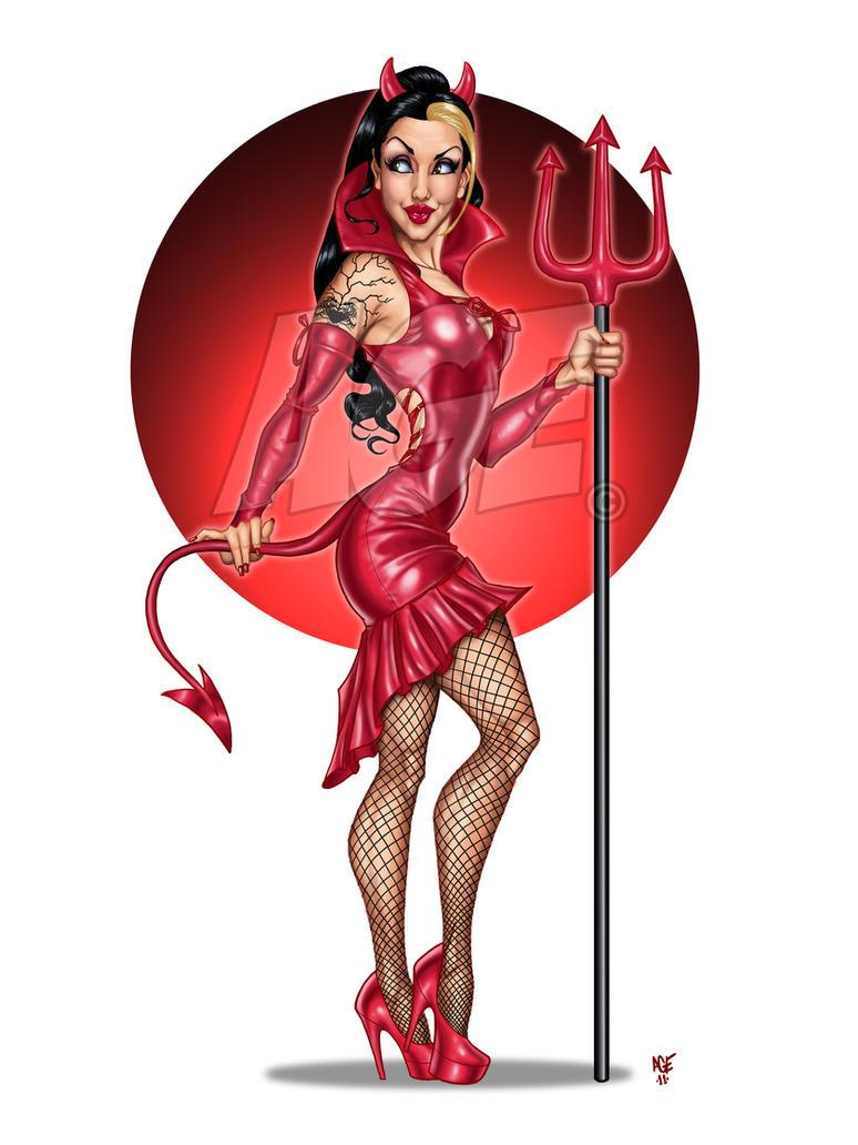 Red Hot Forking Devil by Age-Velez