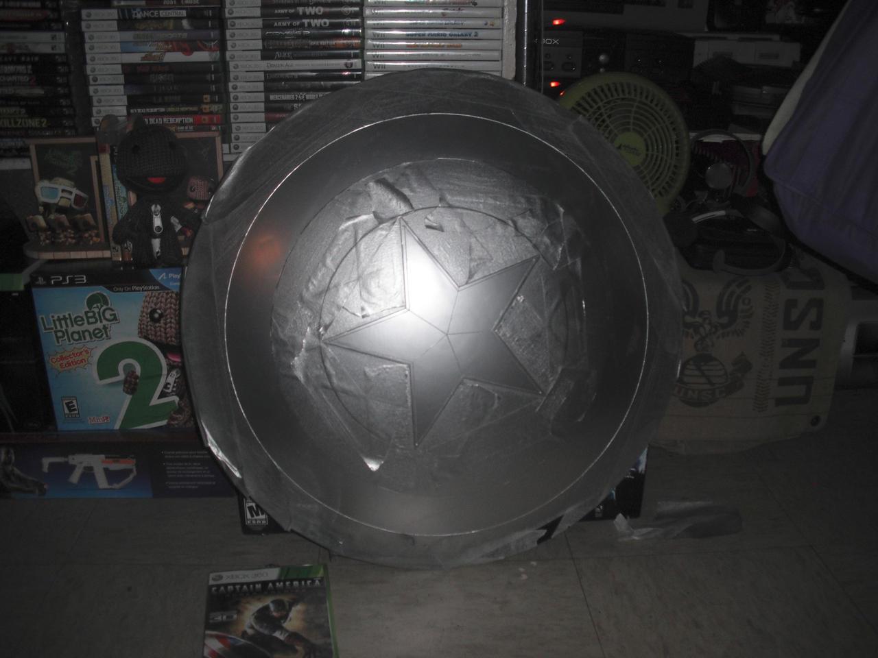 Captain America shield WIP by Age-Velez
