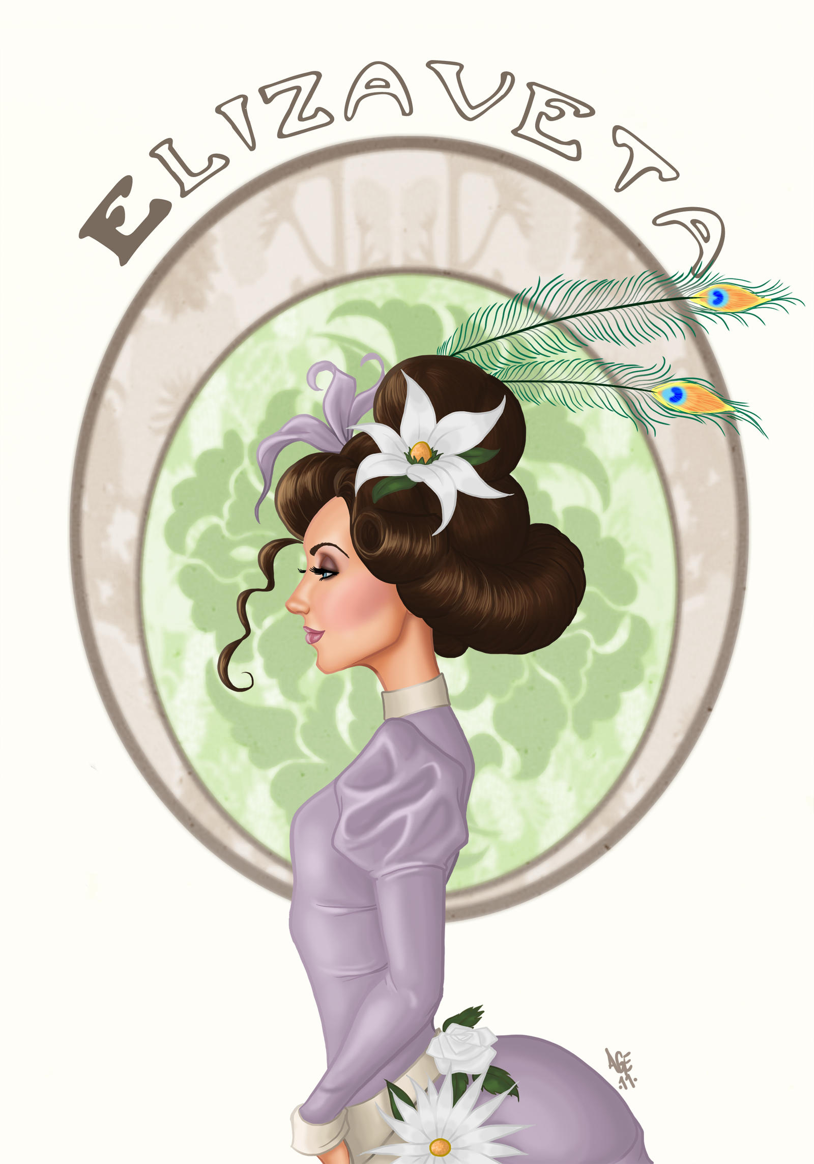 Elizaveta Close up by Age-Velez