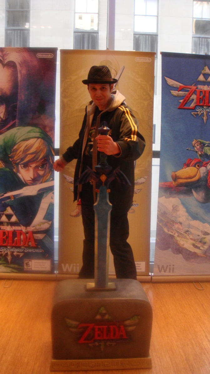 Me and the Master Sword by Age-Velez
