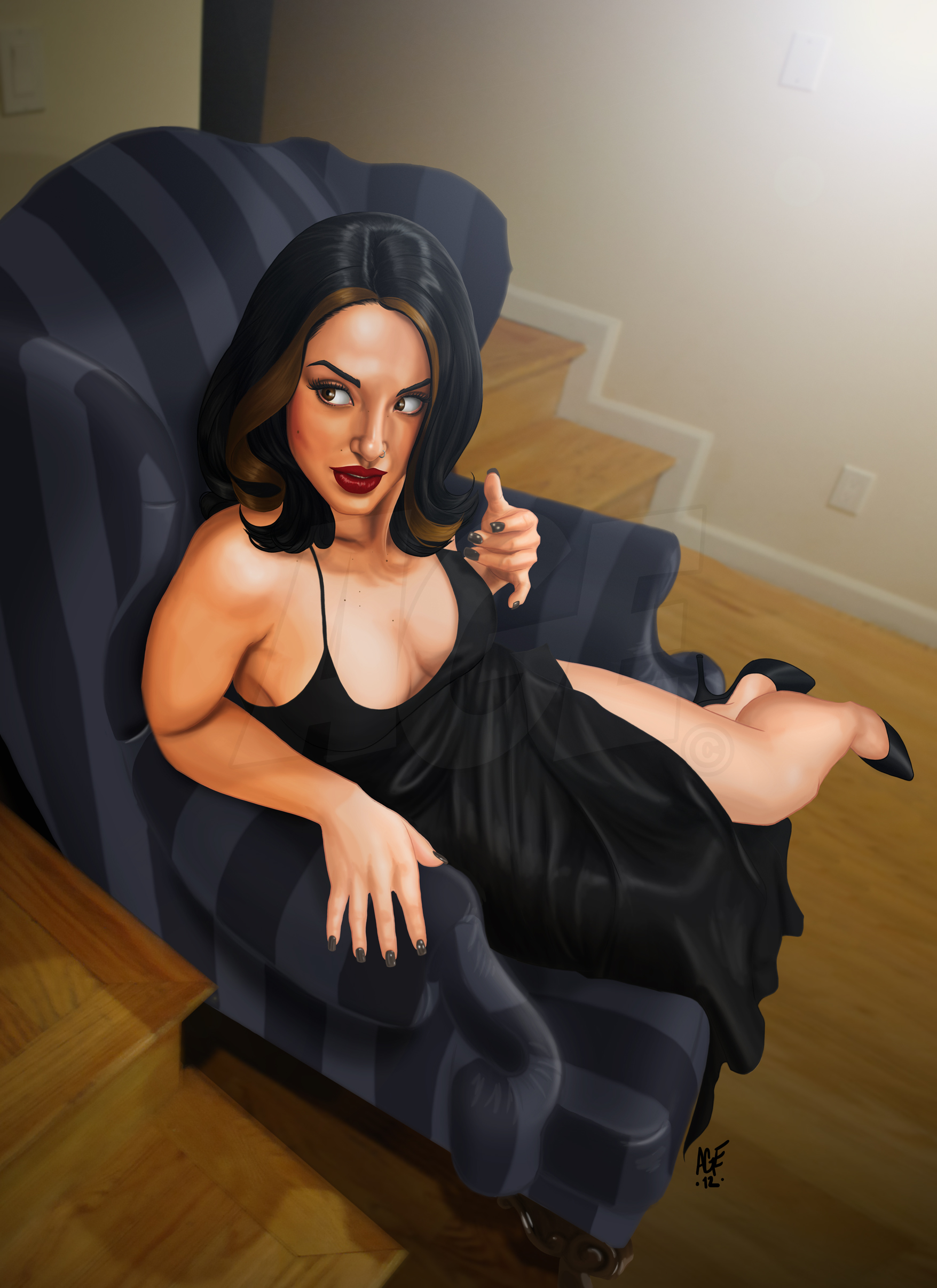 Lounging by Age-Velez