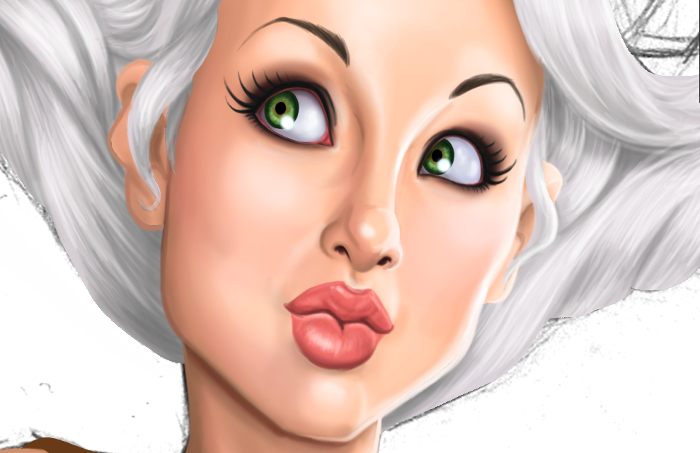 Steamgirl angel Kato WIP Details by Age-Velez