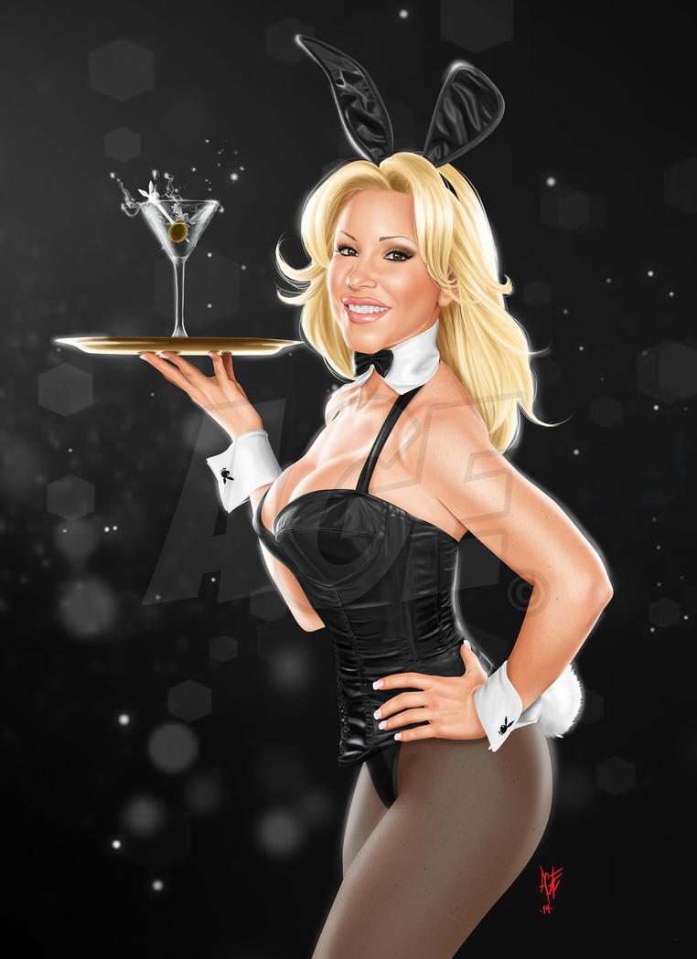 Playboy Bunny waitress by Age-Velez