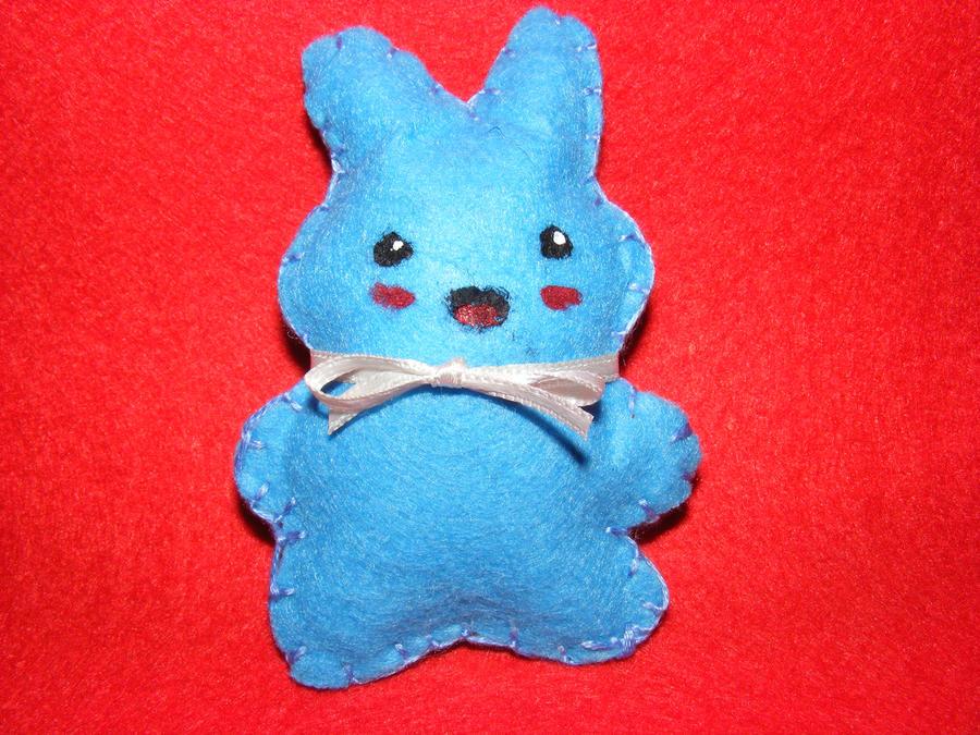 Bunny Plush by crazytooner