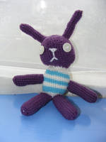 Bunny Amigurumi by crazytooner