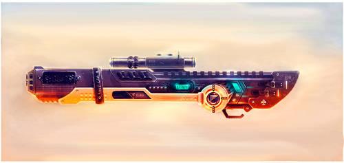 Weapon concept - Cassidi