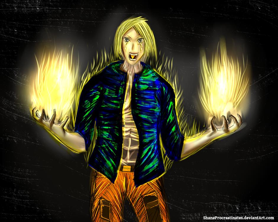 Day 19 - Original Character by ShaneProcrastinates