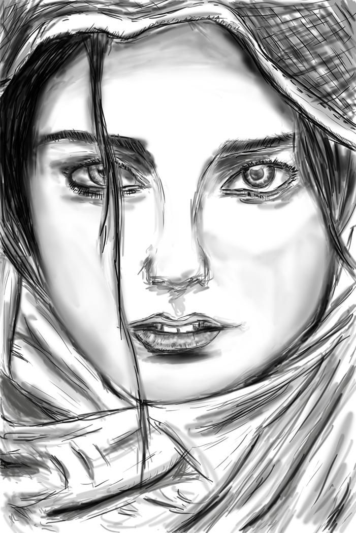 Day 23 - Portrait Study Speedpaint by ShaneProcrastinates
