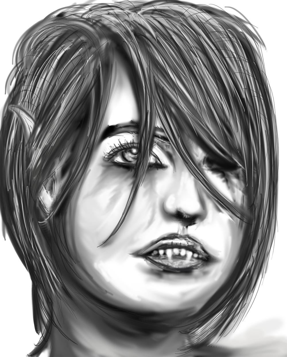 Day 25 - Portrait Study Speedpaint 3 by ShaneProcrastinates