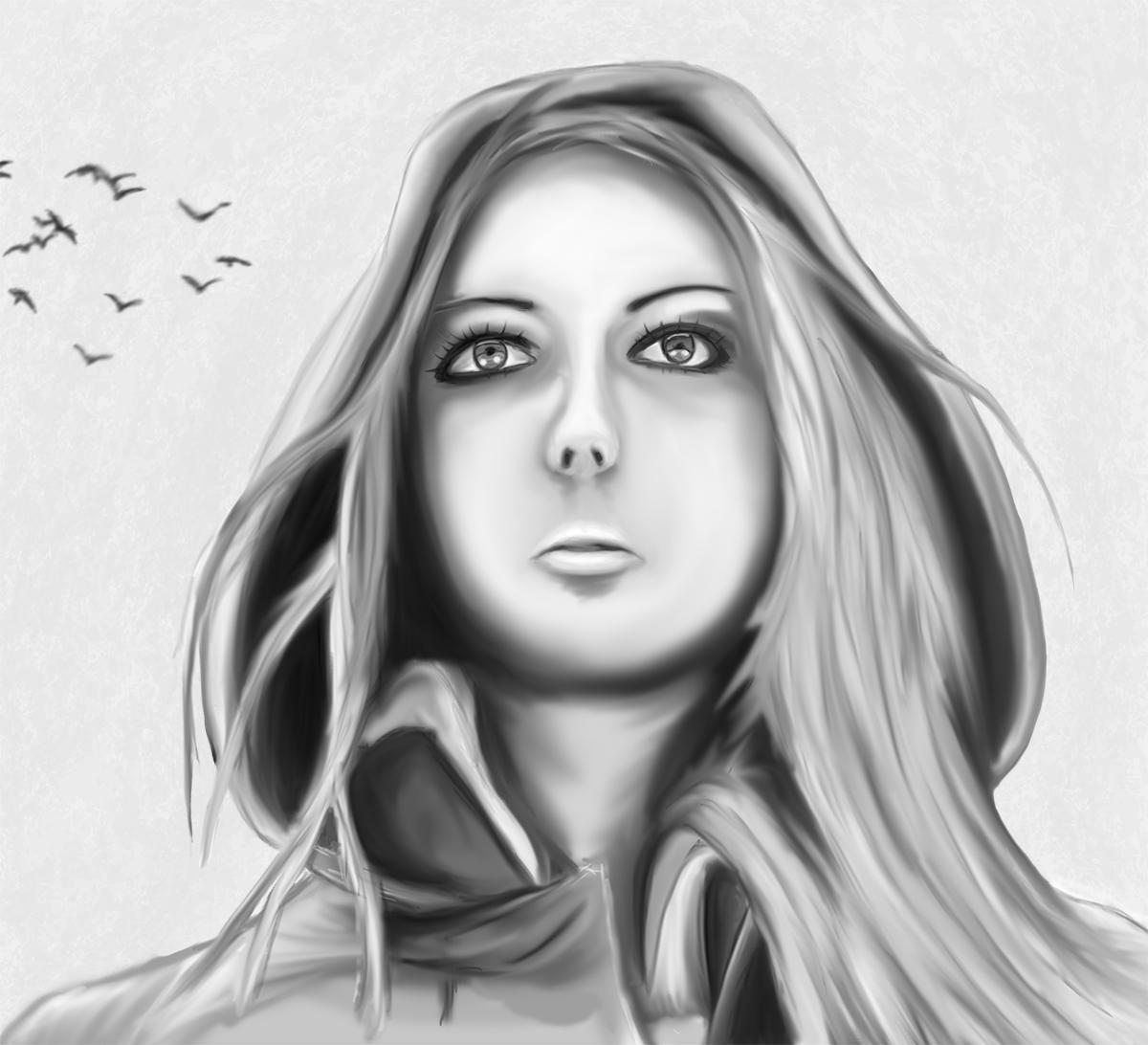 Day 27 - Female Portrait Study by ShaneProcrastinates
