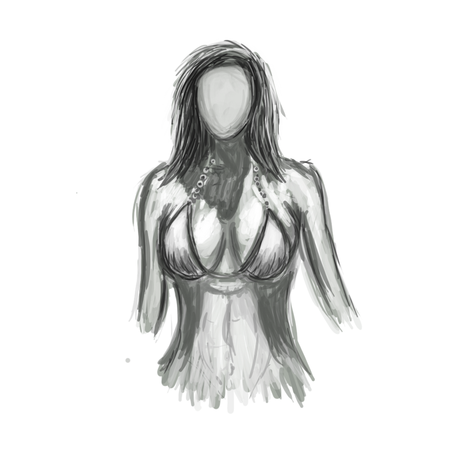 Upper Body Doodle by ShaneProcrastinates