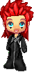 KH2: Axel Sprite by cant-feel-you