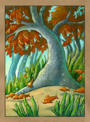 Odd Forest: The Goldfish Tree by CAMartin