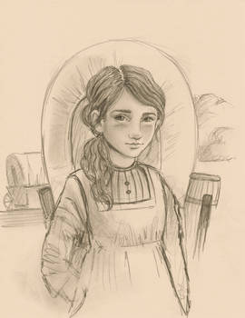 Ellie The Pioneer Girl