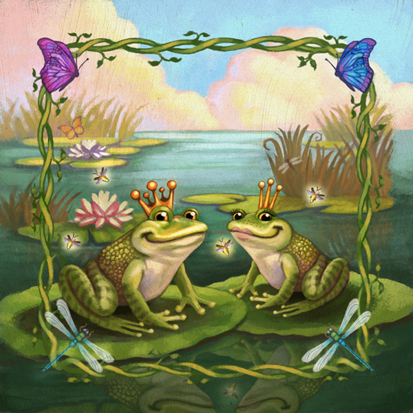Frog Crowns and Fairy Tales by CAMartin