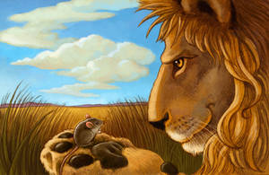 The Lion and the Mouse by CAMartin