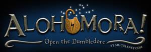 Alohomora Logo for MuggleNet
