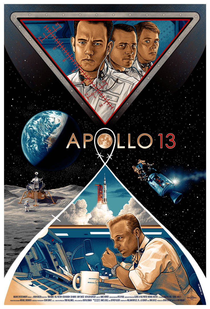 APOLLO 13 - Movie Poster by CAMartin on DeviantArt