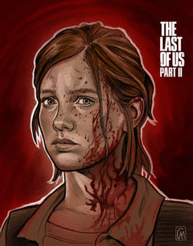 Ellie Portrait - The Last of Us Part 2