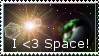 Love Space: Stamp by DragonThunderstorm