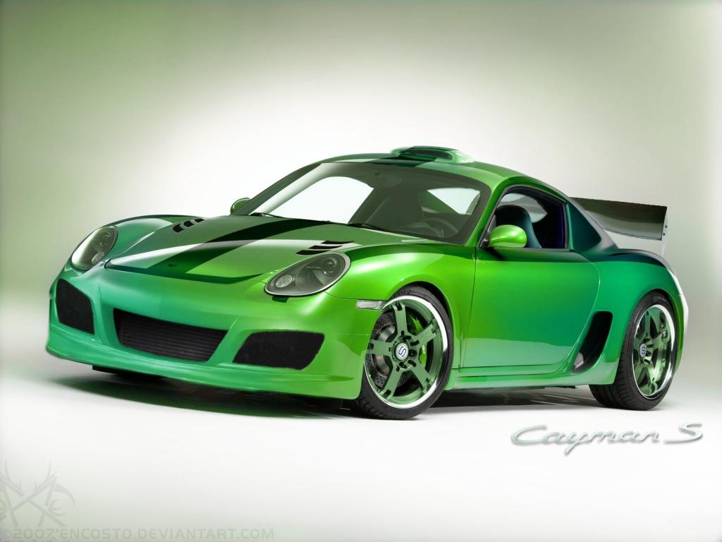 Porsche Cayman S by EnCoStO
