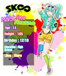 My oc in anime sk8 the infinity