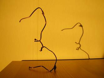 Eyeglass Frame Sculpture 5