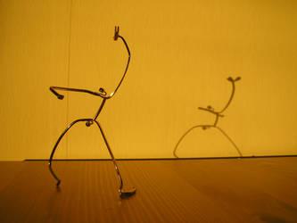 Eyeglass Frame Sculpture 6