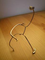 Eyeglass Frame Sculpture 6b