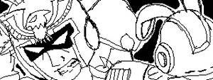 Captain Falcon and Mega Man by WhiteRose1994