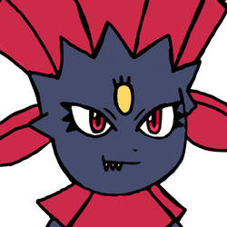 Weavile by WhiteRose1994