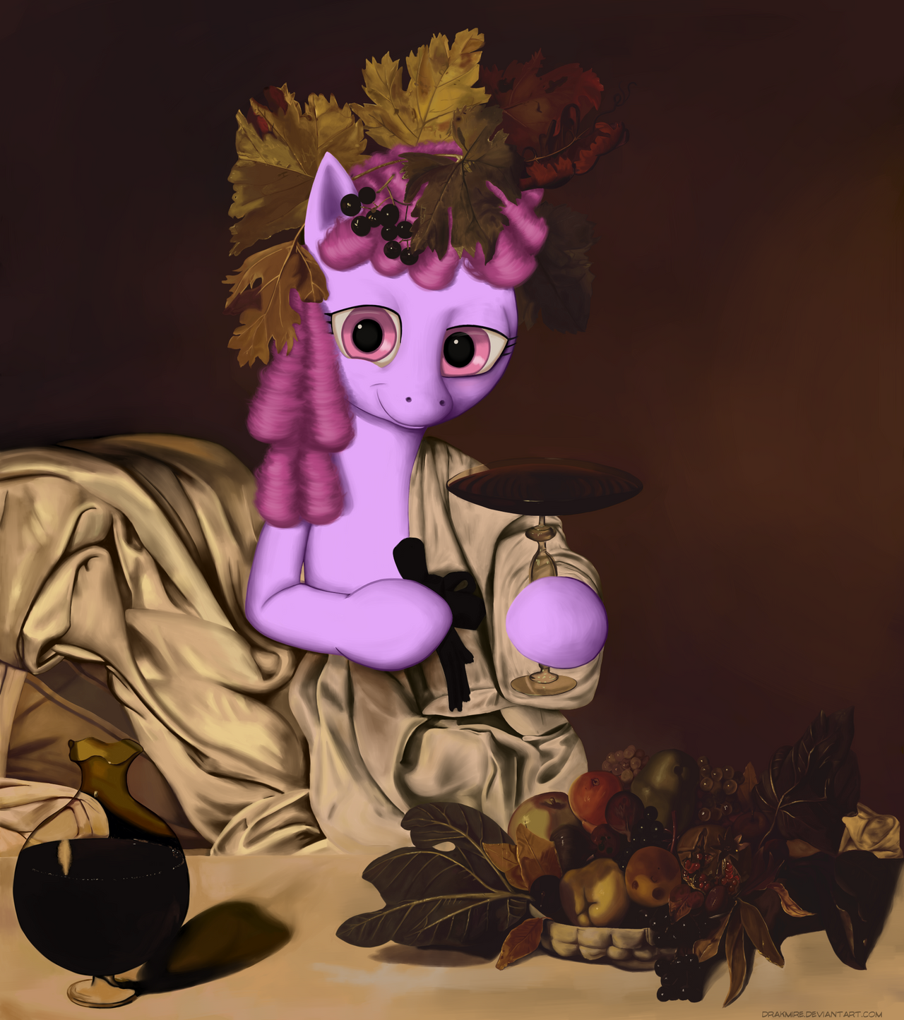 Masters Ponystudy: Bacchus Punch by Drakmire