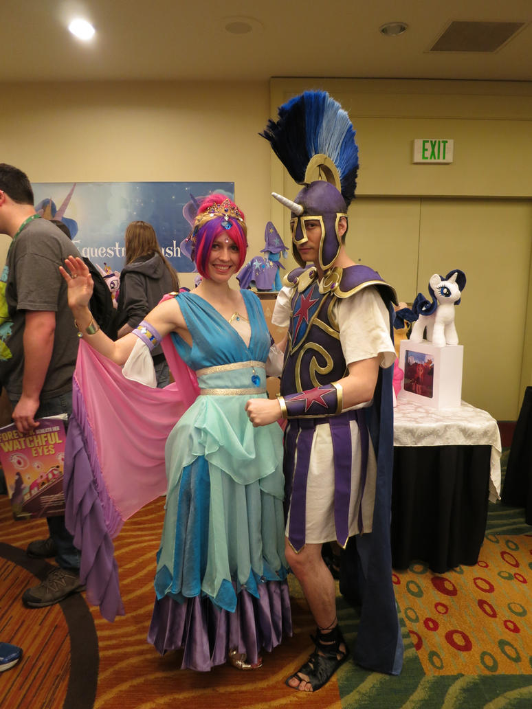 Princess Cadance and Shining Armor Cosplays: EFNW by Drakmire
