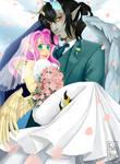 Fluttercord wedding  by Pinkikiwi