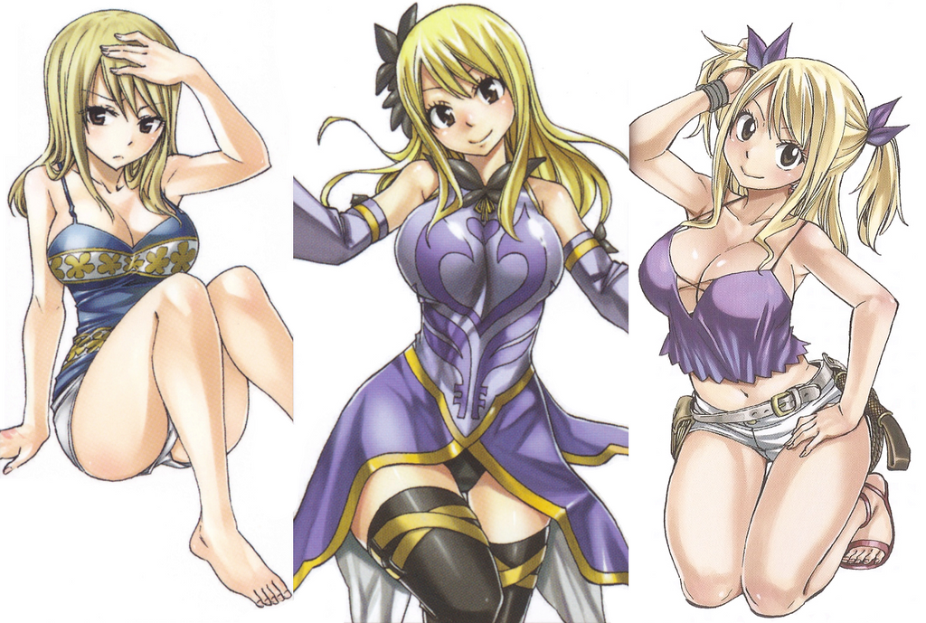 Fairy tail inner covers lucy by hibouman on deviantart - Fairy tail lucy sexy ...