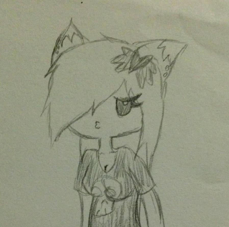Caroline quick sketch by Midnight-Wolfi3