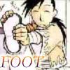 FOOT -FMA- by WildBlackWolf
