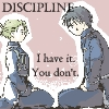 -Fma- Discipline by WildBlackWolf