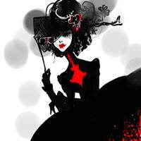 raven queen by OrangeJu