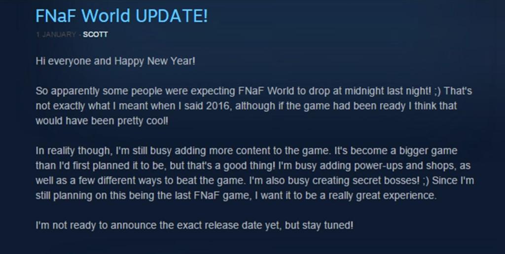 fnaf world update on steam by thegoldenkeyblade on deviantart
