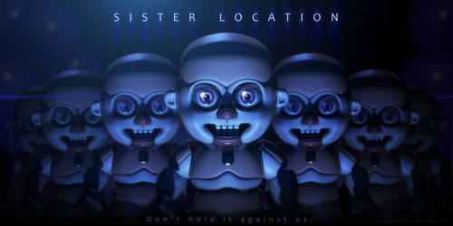 FNAF Sister Location: Bidybab (on scottgames.com) by TheGoldenKeyblade