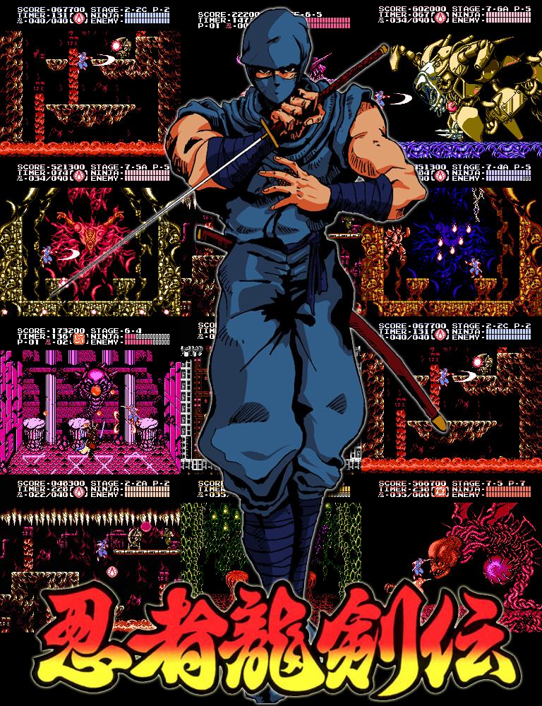 Ninja Ryukenden Tribute by Helryu