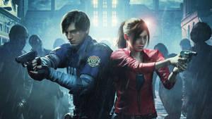 Resident Evil 2 Remake Youtube Banner