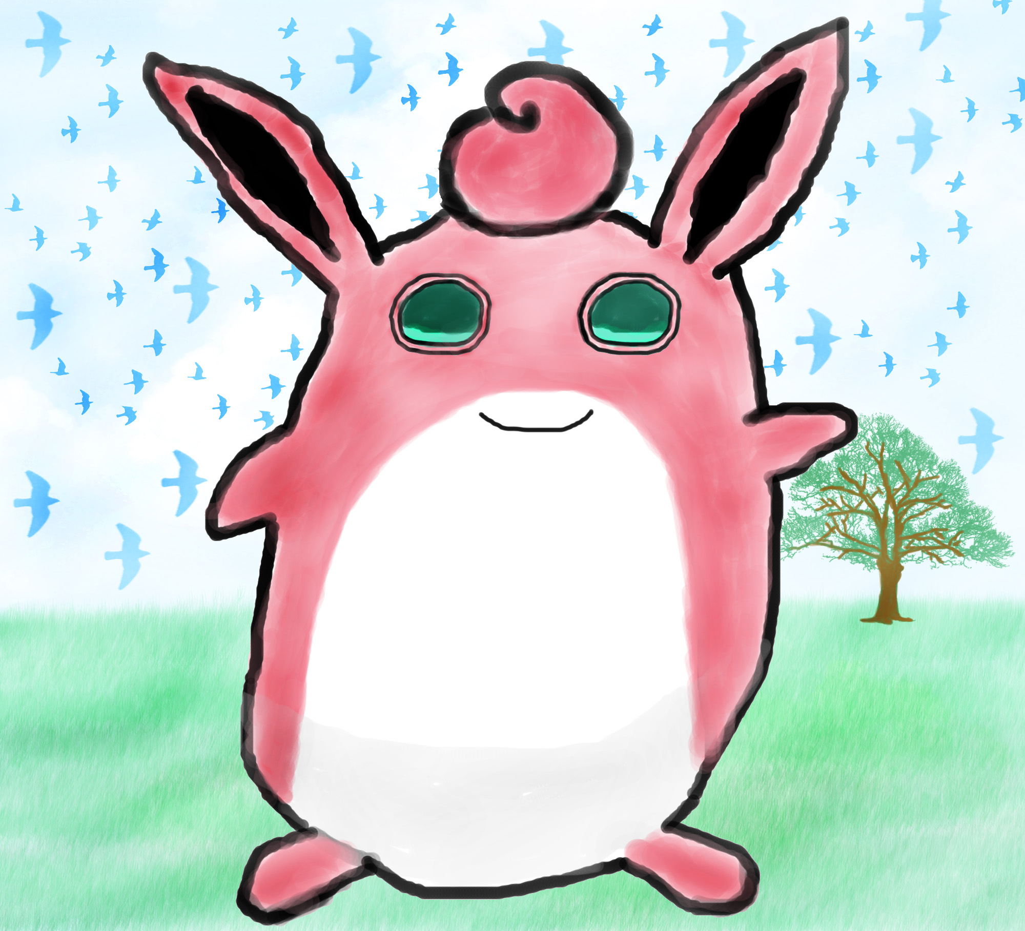 WigglyTuff Background.