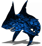 ChaoticInferno Shark - Re-color + Re-design by Me